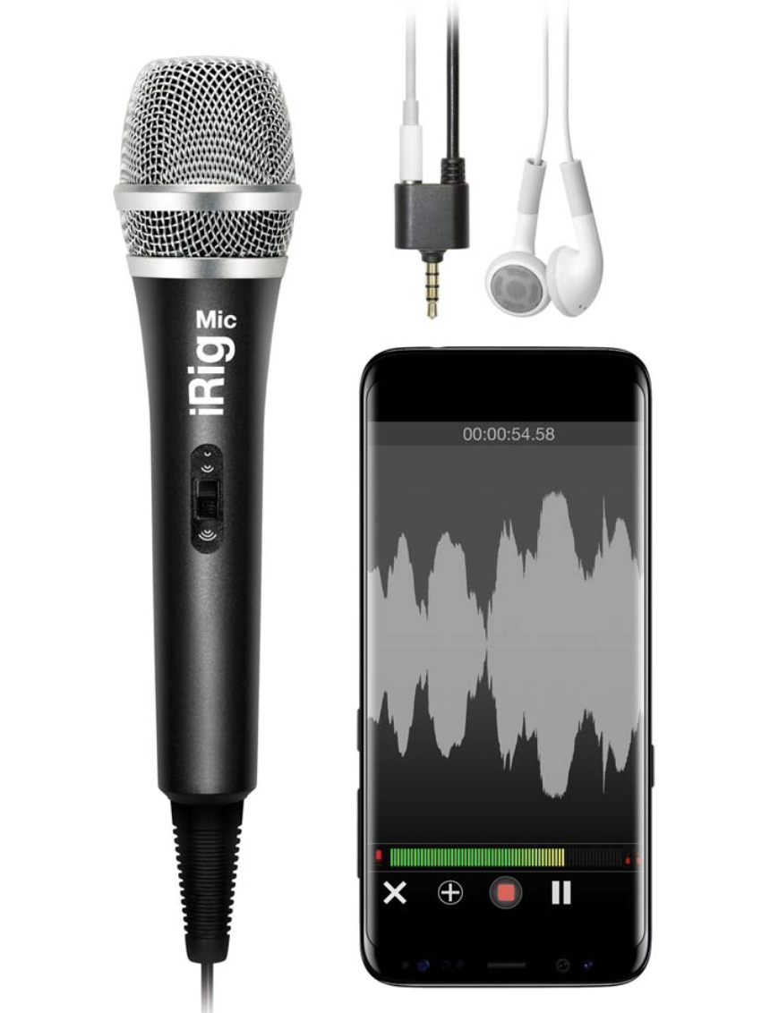 iRing Microfoni älypuhelimelle